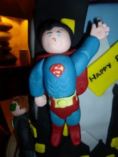 Fondant Superman My Guide To Home Made: Superhero Party: The Food