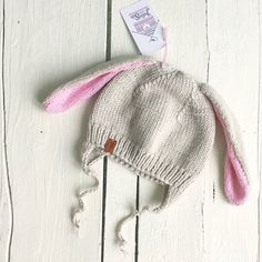 Наши клиентки самые талантливые, и эта шапка-зайка �...