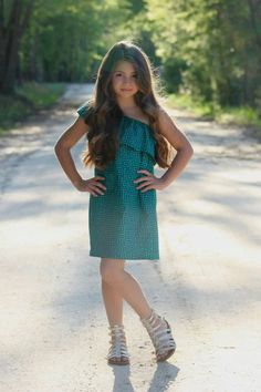 Image result for girls asymmetrical dress pattern