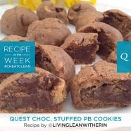 Quest Chocolate Stuffed PB Cookies | Quest Nutrition