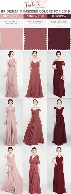Long Short Bridesmaid Dresses 80 149 Size 2 30 And 50 Colors With Images Dusty Rose Bridesmaid Dresses Dusty Rose Dress Short Bridesmaid Dresses