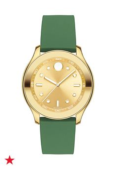 It's time for a new watch in the trendiest color of the year. Visit macys.com for this and other by Movado.