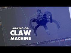 Making of Claw Machine Cinema 4d Tutorial, 3d Tutorial, Mo Design, Graphic Design, Claw Machine, Maxon Cinema 4d, Design Tutorials, Marble Maze, Video Editing