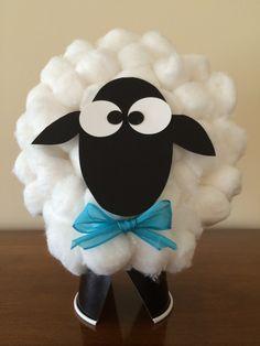 Cotton Ball Sheep Barn Crafts Spring For Kids Art