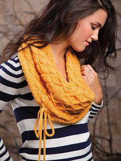Knitting - Accessory Patterns - Neck Warmer & Cowl Patterns - Mock Moebius