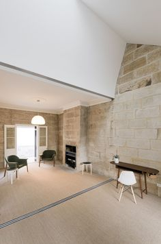 theguthrieproject, Carter Williamson Architects · Balmain Sandstone Cottage · Divisare
