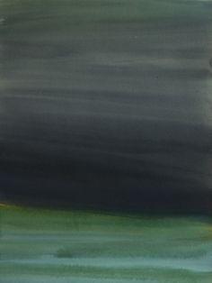 "Koen Lybaert; Watercolor 2013 Painting ""Tistedalen"""