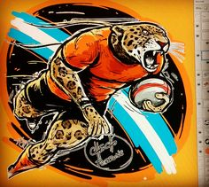 Jaguares, Kevingston Rugby, Argentina, checho Perrone Ilustraciones.