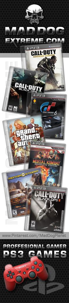 Some of my favorite PS3 Playstation games we play with often!