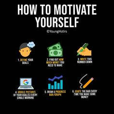 How to Motivate Yourself Business Money, Business Tips, Online Business, How To Focus Better, How To Better Yourself, Self Development, Personal Development, Leadership, Business Motivational Quotes
