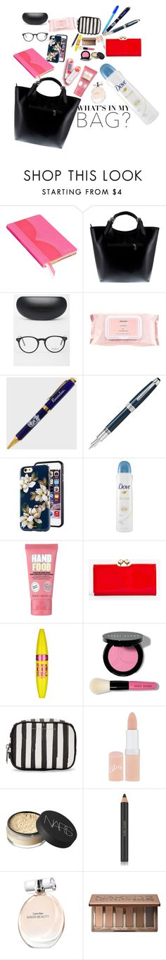 """""""What is in my bag?"""" by nurkovicselma on Polyvore featuring Wild & Wolf, Massimo Castelli, Polo Ralph Lauren, Mamonde, Fountain, Dove, Soap & Glory, Ted Baker, Maybelline and Bobbi Brown Cosmetics"""