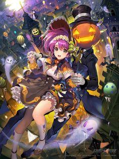 Halloween anime girl pumpkin ghost anime ghost Home Anime Witch, Anime Ghost, Anime Halloween, Halloween Night, Manga Art, Anime Manga, Anime Art, Real Manga, Character Illustration