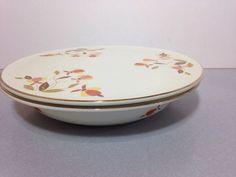 "Hall Jewel Tea Flat Casserole with Lid 9 5"" | eBay"