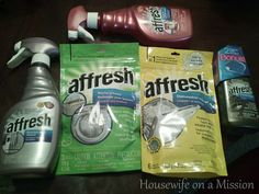 Housewife on a Mission: Affresh Cleaning Products
