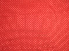 CottonBlend Fabric BTY Tiny White Leaves on Red  Smooth by doranzi, $5.00 #swag #abees #swmo