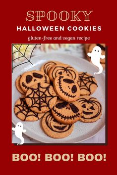 These soft spooky cookies are just perfect for Halloween! They are also totally sugar-free, gluten-free, vegan, and very delicious. Cookies have a perfectly soft and slightly chewy consistency. These cookies are perfect for any Halloween party or even afternoon snack. Happy Halloween y'all!