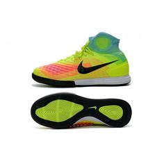 NIke MagistaX Proximo II IC con ACC zapatos de fútbol - Volt Negro Hyper  Turquesa Total 9d0d4b2d7fbb3