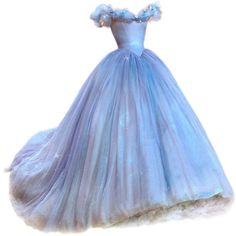 satinee.polyvore.com - Cinderella gown ❤ liked on Polyvore featuring dresses, gowns, cinderella, long dresses, long blue evening dress, blue color dress, blue evening gown and blue long dress