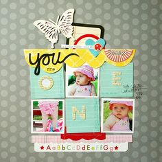 #scrapbooking loveee these colors together!