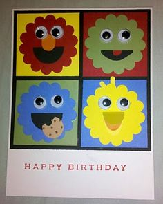 Sesame Street Birthday by kelston - Cards and Paper Crafts at Splitcoaststampers