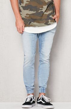 Skinny 2.0 Denim Jogger Pants