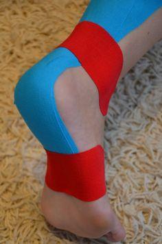 Achillessehne-tapen