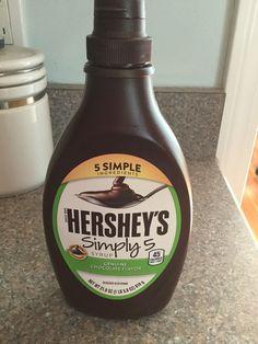 Hershey syrup, gluten free