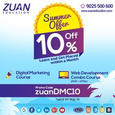 Summer Offer on Zuan Education Courses