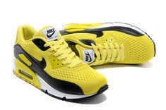 Air Max 90 Premium EM Mens Shoes Yellow Black