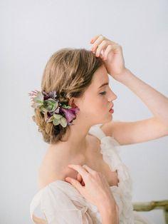 Carol Hannah Wedding Gown -Monticello - Wedding Hair inspiration shoot with Corbin Gurkin