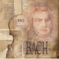 Tribute to Bach Kunstdruck