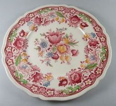 Johnson Brothers Dorchester pattern English china I own this pattern and love it.