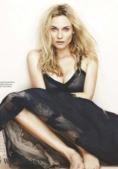 Diane Kruger. Hot on the big screen, hotter in the fashion magazines.
