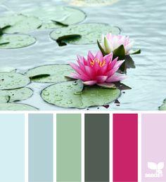 floating tones by design-seeds.com - voor meer kleur inspiratie kijk ook eens op http://www.wonenonline.nl/interieur-inrichten/kleuren-trends-2014/