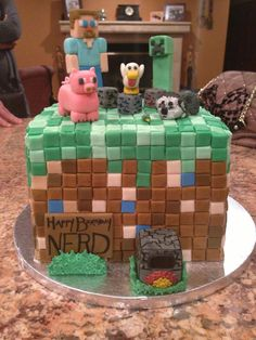 minecraft birthday cake - Google Search