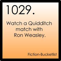 Fiction Bucket list: Harry Potter