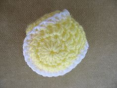 Tennis Ball free crochet pattern