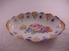 Porcelain Serving Bowl Made in Bavaria by PapasGoodOleDays on Etsy