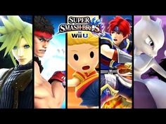 Super Smash Bros ALL DLC Character Trailers - Cloud Strife & More (Wii U, 3DS) - YouTube