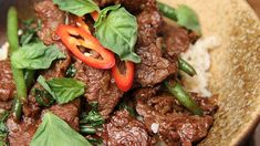 Thai Beef and Basil Stirfry – Thai Recipes