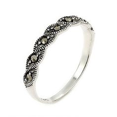 So simple - Pennie's Vinitage Style Twisted Marcasite Ring $29.95