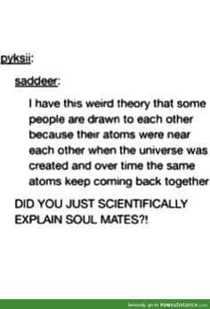 The scientific theory of soulmates