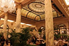 The Plaza Hotel High Tea in the Palm Court - New York City