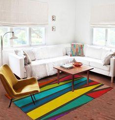 Colorful rug - modern rug - affordable rugs - Designer rug