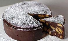 Tort delicios de ciocolata cu biscuiti, fara coacere si gata cat ai bate din palme