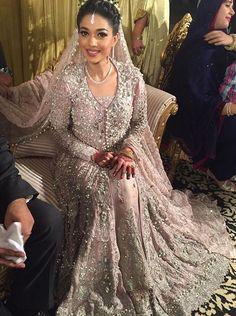 Sanam Jung on her Walima #pakistaniweddings #bridal #bride #couture # Sanam…