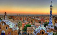 Parc Guell (Barcelona, Spain)