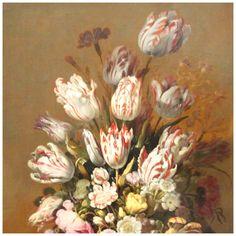Rijksmuseum Amsterdam - Stilleven met bloemen, Hans Bollongier 1639