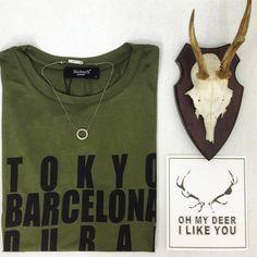 Oh my deer we <3 Club Manhattan #clubmanhattan #necklace #20percentdiscount