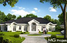 Projekt domu dwurodzinnego Rezydencja Parkowa 4 (609)